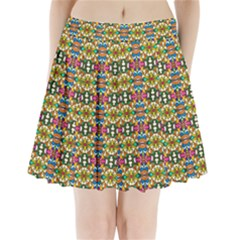 Artwork By Patrick Colorful 36 Pleated Mini Skirt