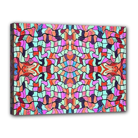 Artwork By Patrick Colorful 38 Canvas 16  X 12
