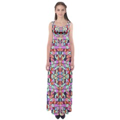 Artwork By Patrick Colorful 38 Empire Waist Maxi Dress