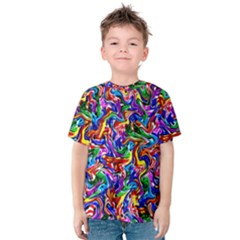 Artwork By Patrick Colorful 39 Kids  Cotton Tee