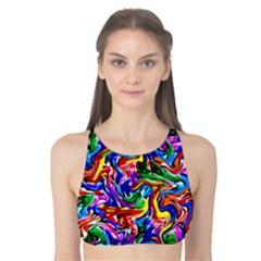 Artwork By Patrick Colorful 39 Tank Bikini Top