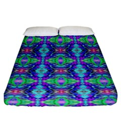 Artwork By Patrick Colorful 41 Fitted Sheet (king Size)