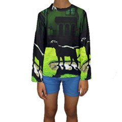 Guard 3 Kids  Long Sleeve Swimwear
