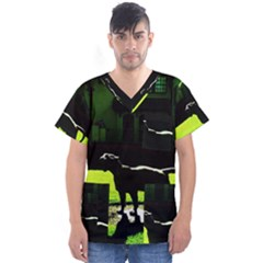 Guard 3 Men s V Neck Scrub Top