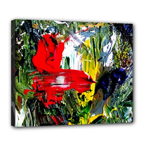 Bow Of Scorpio Before A Butterfly 2 Deluxe Canvas 24  X 20