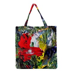 Bow Of Scorpio Before A Butterfly 2 Grocery Tote Bag