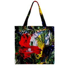 Bow Of Scorpio Before A Butterfly 2 Zipper Grocery Tote Bag by bestdesignintheworld