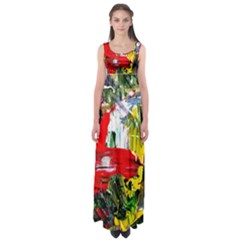 Bow Of Scorpio Before A Butterfly 2 Empire Waist Maxi Dress