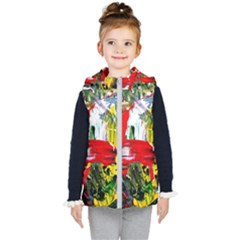 Bow Of Scorpio Before A Butterfly 2 Kid s Hooded Puffer Vest