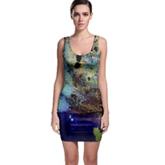 Blue Options 3 Bodycon Dress