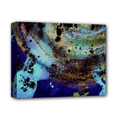 Blue Options 3 Deluxe Canvas 14  X 11  by bestdesignintheworld