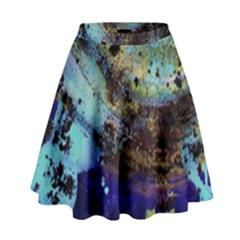 Blue Options 3 High Waist Skirt