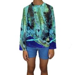 Blue Options 6 Kids  Long Sleeve Swimwear