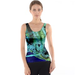Blue Options 6 Tank Top