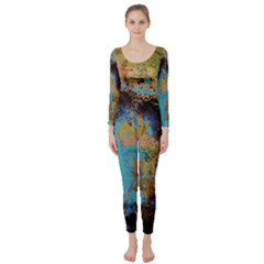 Blue Options 5 Long Sleeve Catsuit