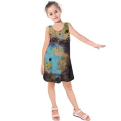 Blue Options 5 Kids  Sleeveless Dress