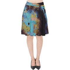 Blue Options 5 Velvet High Waist Skirt by bestdesignintheworld
