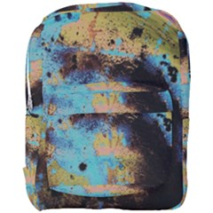 Blue Options 5 Full Print Backpack