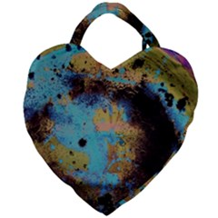 Blue Options 5 Giant Heart Shaped Tote