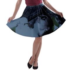 In The Highland Park A Line Skater Skirt