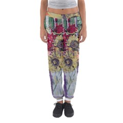Sunflowers And Lamp Women s Jogger Sweatpants