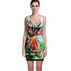 Dry Flowers On Your Windows Bodycon Dress
