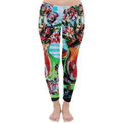 Dry Flowers On Your Windows Classic Winter Leggings