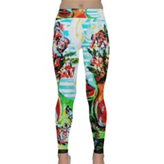 Dry Flowers On Your Windows Classic Yoga Leggings