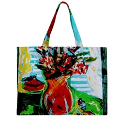 Dry Flowers On Your Windows Zipper Mini Tote Bag