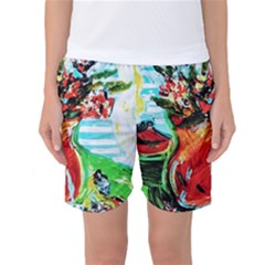 Dry Flowers On Your Windows Women s Basketball Shorts