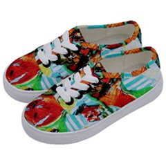 Dry Flowers On Your Windows Kids  Classic Low Top Sneakers by bestdesignintheworld