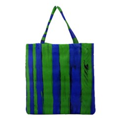 Stripes Grocery Tote Bag