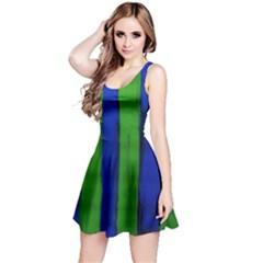 Stripes Reversible Sleeveless Dress