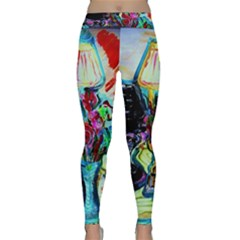 Still Life With Two Lamps Classic Yoga Leggings