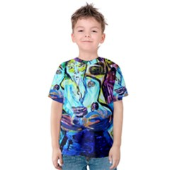 Old Light And New Light Kids  Cotton Tee