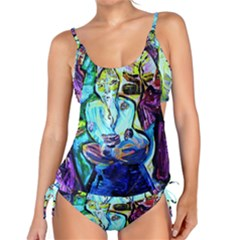 Old Light And New Light Tankini Set
