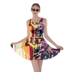 Still Life With Lamps And Flowers Skater Dress