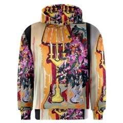 Still Life With Lamps And Flowers Men s Overhead Hoodie