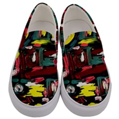 Signs 1/1 Men s Canvas Slip Ons