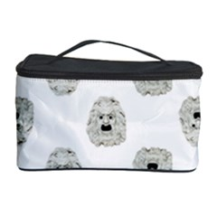 Angry Theater Mask Pattern Cosmetic Storage Case by dflcprints
