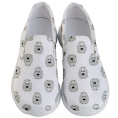 Angry Theater Mask Pattern Men s Lightweight Slip Ons