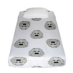 Angry Theater Mask Pattern Fitted Sheet (single Size)