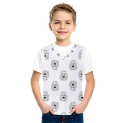Angry Theater Mask Pattern Kids  Sportswear