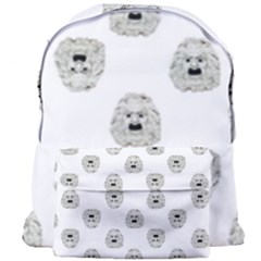 Angry Theater Mask Pattern Giant Full Print Backpack