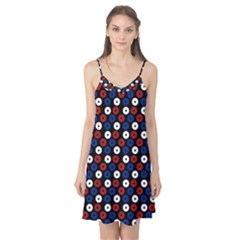Eye Dots Red Blue Camis Nightgown by snowwhitegirl