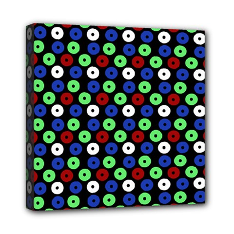 Eye Dots Green Blue Red Multi Function Bag