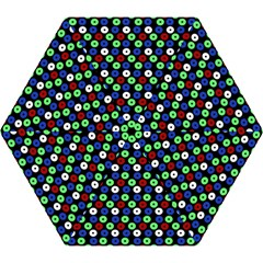 Eye Dots Green Blue Red Mini Folding Umbrellas