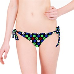 Eye Dots Green Blue Red Bikini Bottom