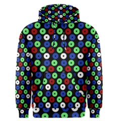 Eye Dots Green Blue Red Men s Pullover Hoodie