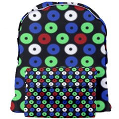 Eye Dots Green Blue Red Giant Full Print Backpack